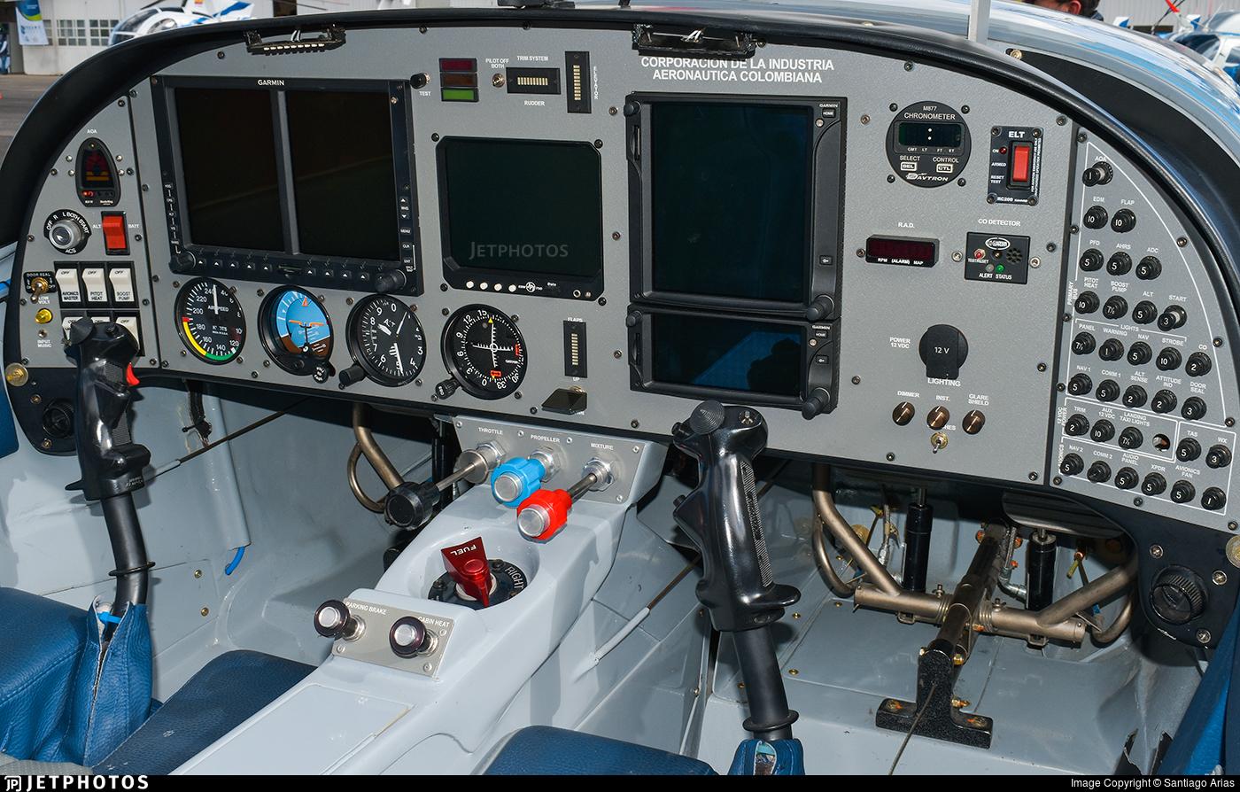 FAC2465 - Lancair-CIAC T-90 Calima - Colombia - Air Force