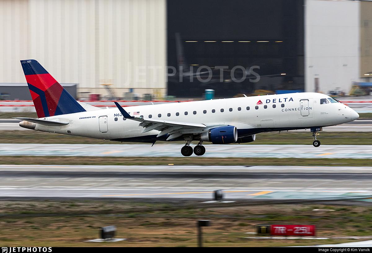N621CZ - Embraer 170-200LR - Delta Connection (Compass Airlines)