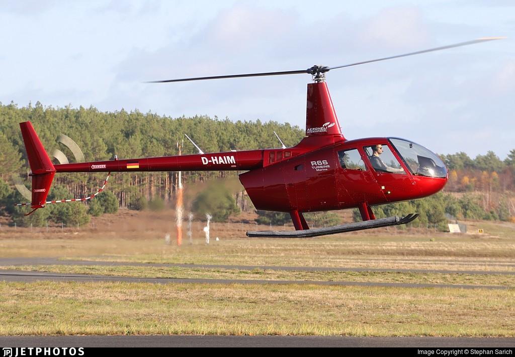 D-HAIM - Robinson R66 Turbine Marine - Aeroheli International