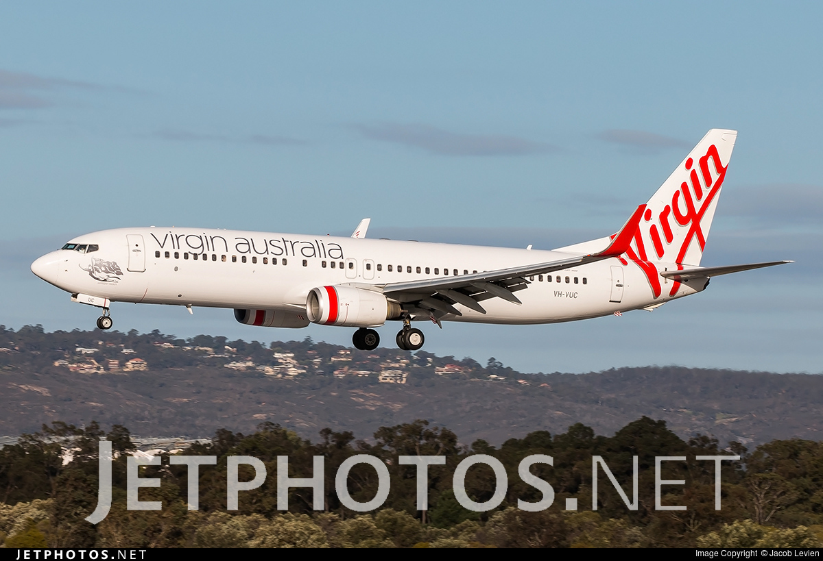 VH-VUC - Boeing 737-8FE - Virgin Australia Airlines