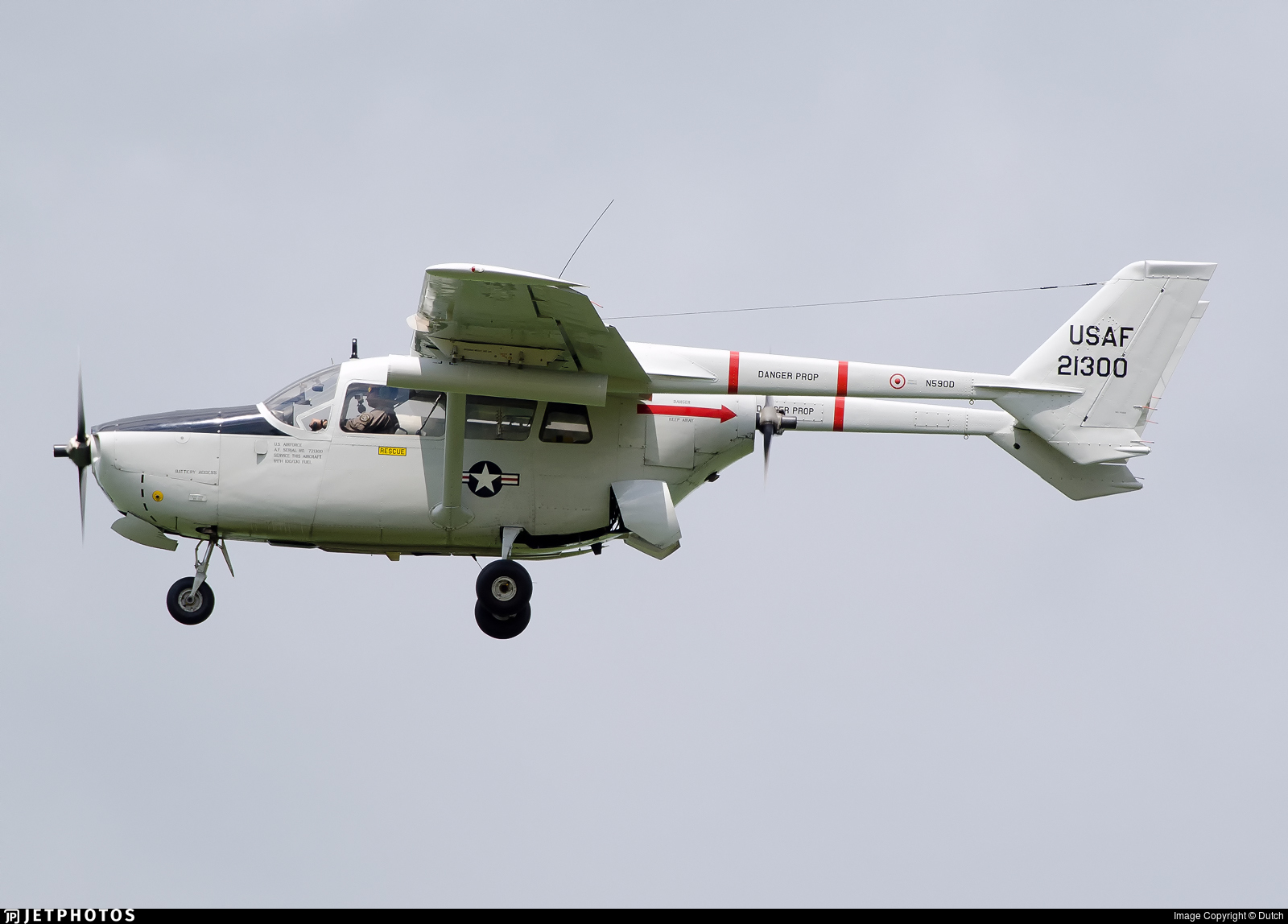 N590D - Cessna O-2 Skymaster - Private