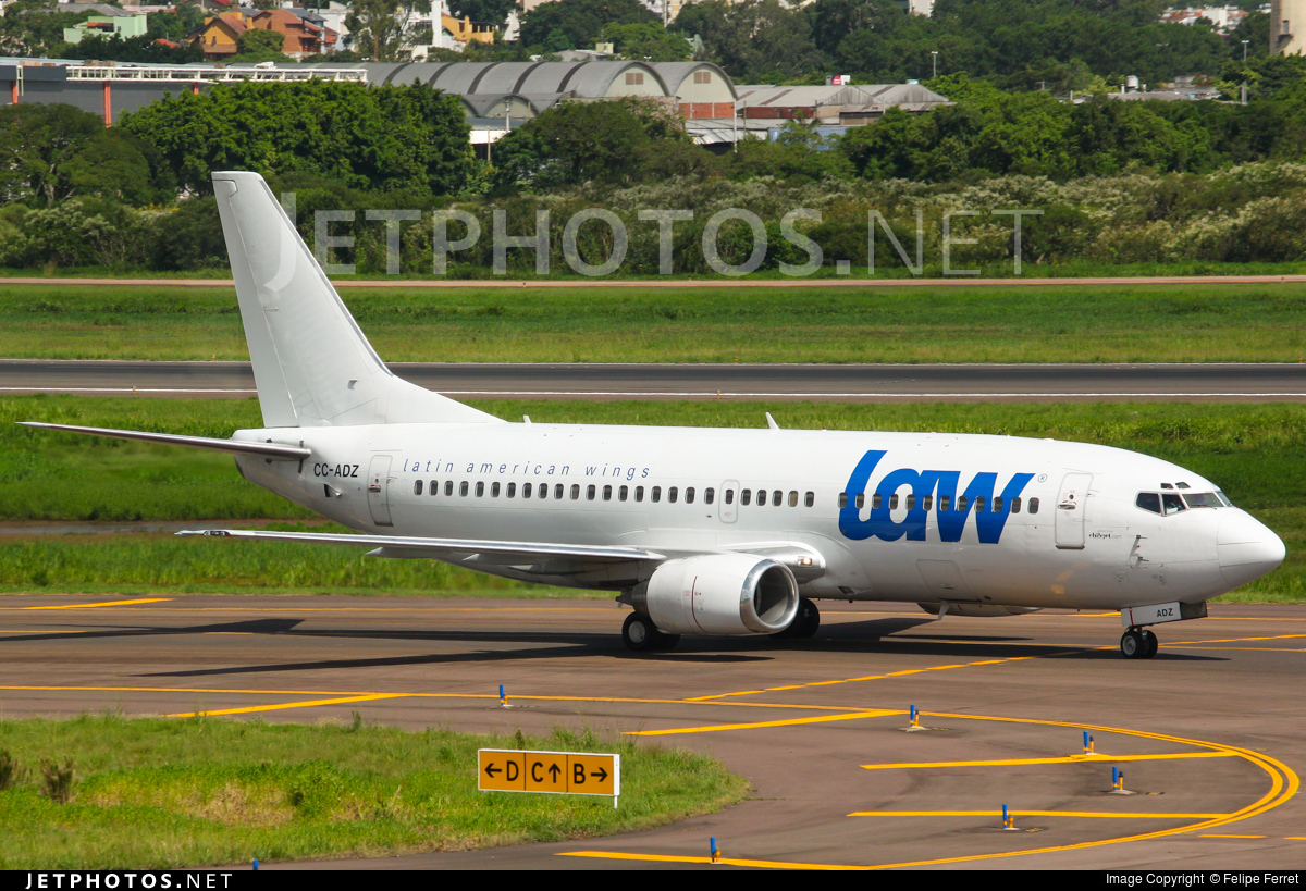 CC-ADZ - Boeing 737-3G7 - LAW - Latin American Wings