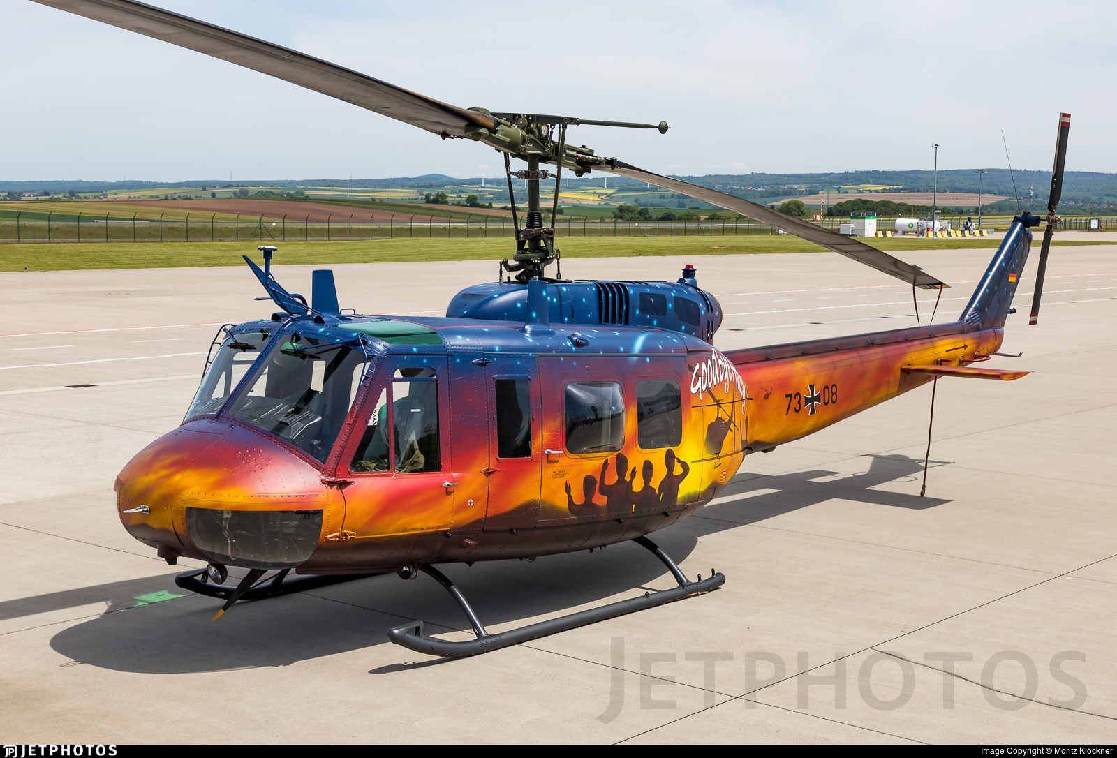 73-08 - Bell UH-1D Iroquois - Germany - Army