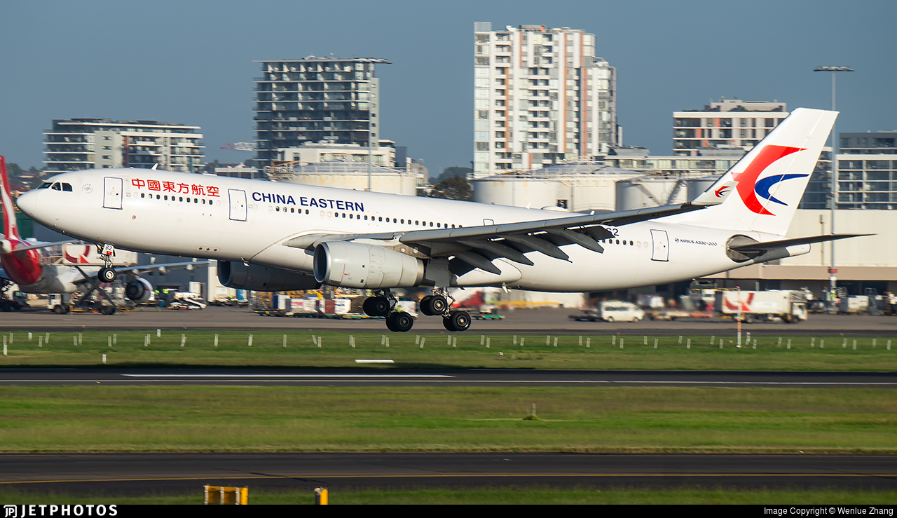 B-5962 - Airbus A330-243 - China Eastern Airlines