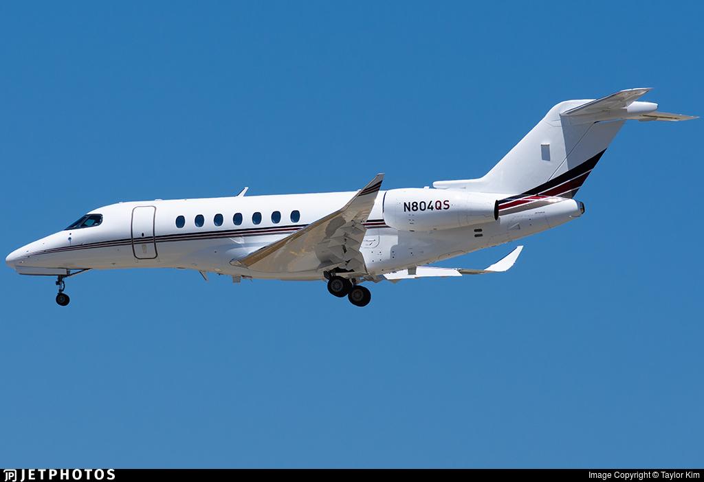 N804QS - Cessna Citation Longitude - NetJets Aviation