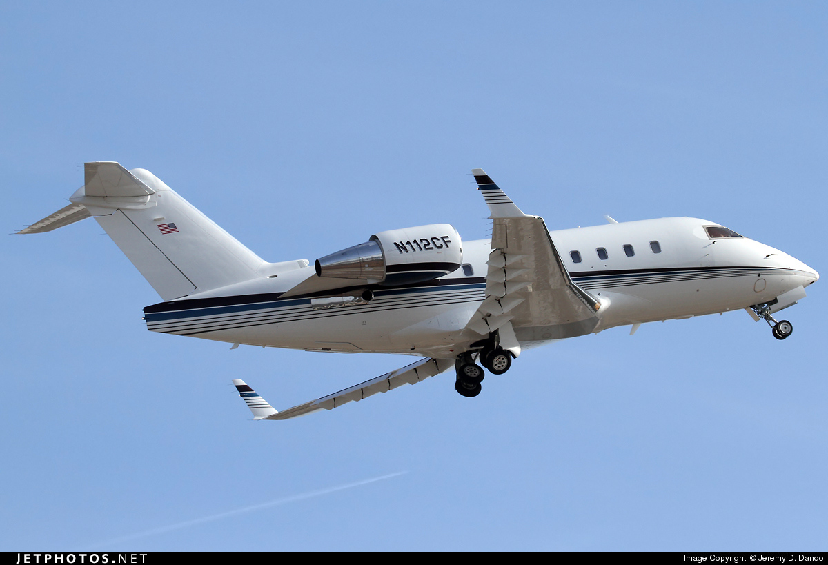 N112CF - Bombardier CL-600-2B16 Challenger 604 - Private