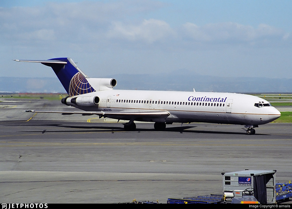 N33785 - Boeing 727-232(Adv) - Continental Airlines