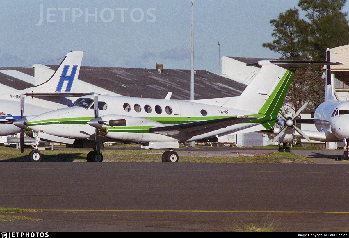 VH-IBF - Beechcraft 200 Super King Air - Private