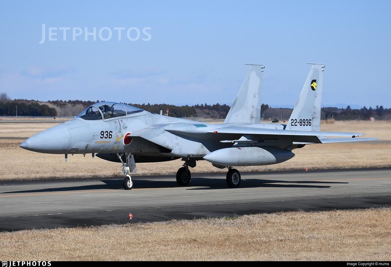 22-8936 - McDonnell Douglas F-15J Eagle - Japan - Air Self Defence Force (JASDF)