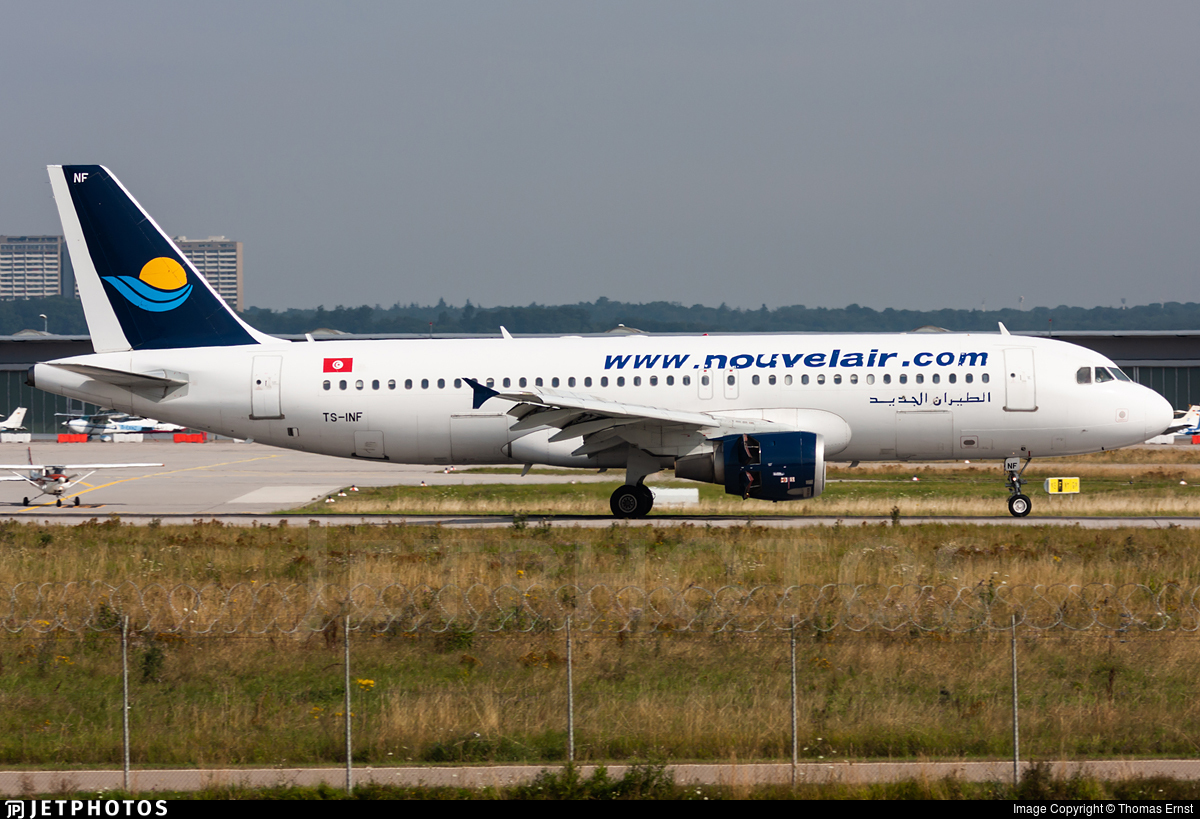 TS-INF - Airbus A320-212 - Nouvelair