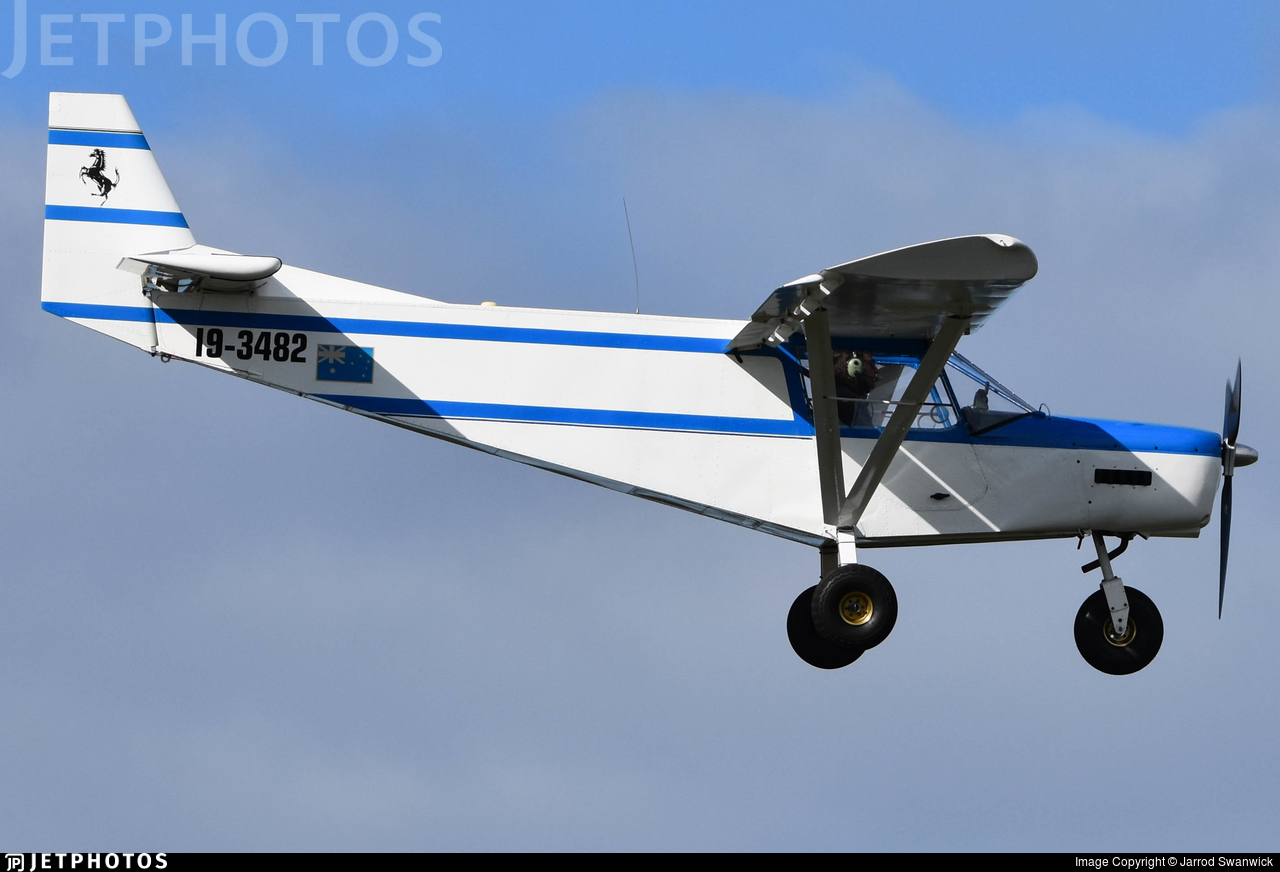 19-3482 - Zenair STOL CH 701 - Private