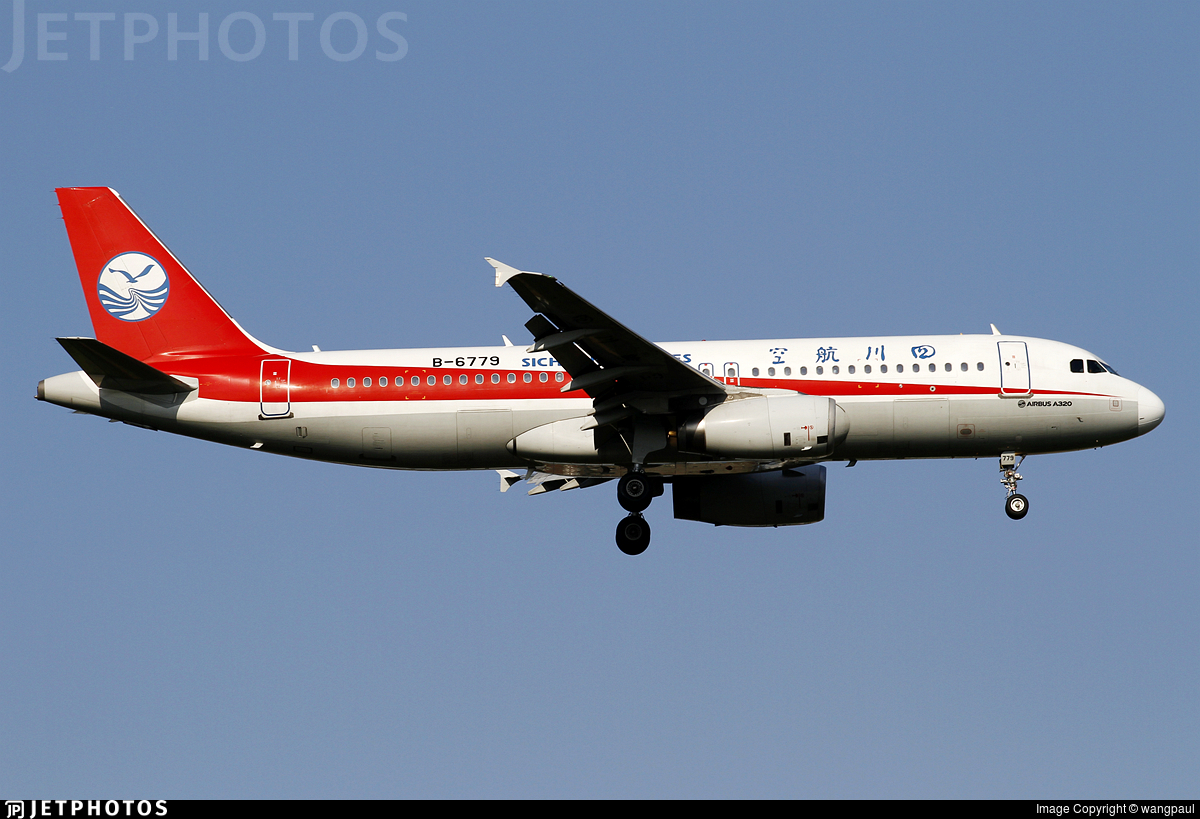 B-6779 - Airbus A320-232 - Sichuan Airlines