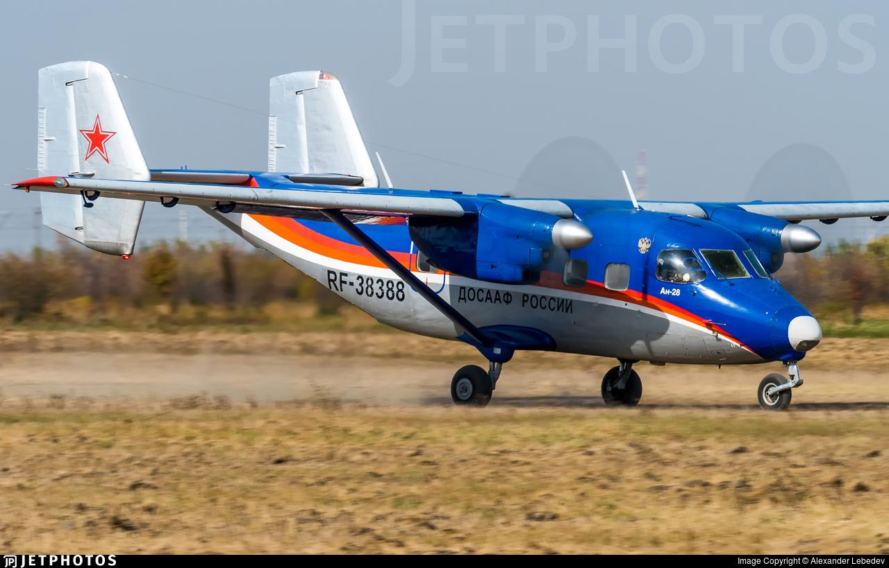 RF-38388 - Antonov An-28 - DOSAAF