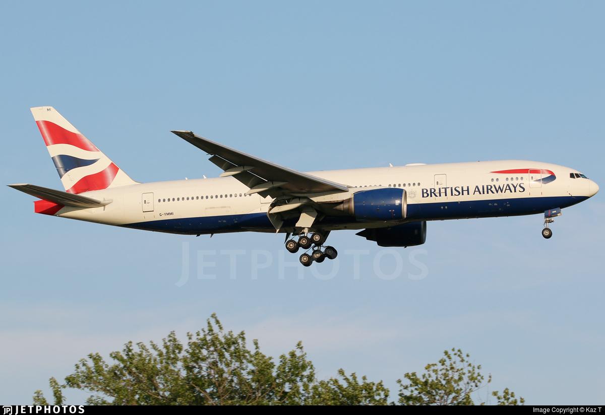 G-YMMI - Boeing 777-236(ER) - British Airways