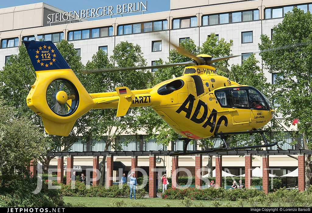 D-HBYH - Eurocopter EC 135P2 - ADAC Luftrettung