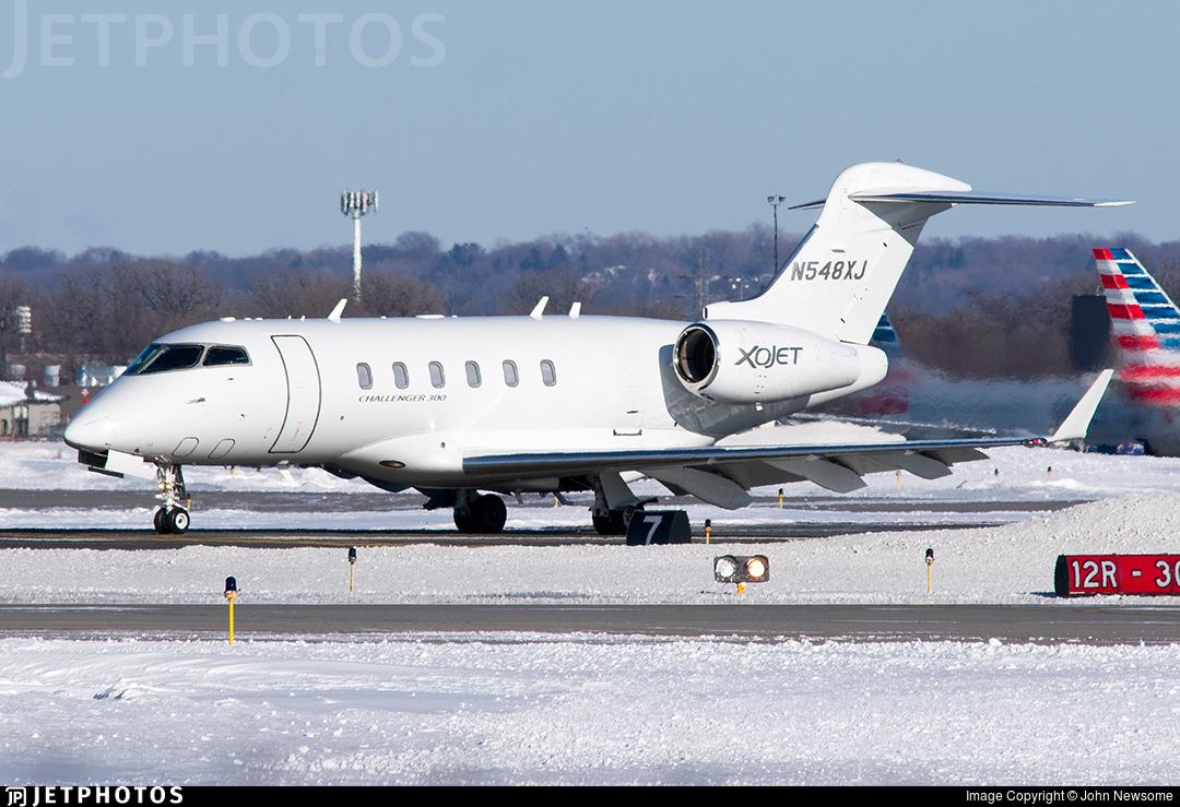 N548XJ - Bombardier BD-100-1A10 Challenger 300 - XOJet