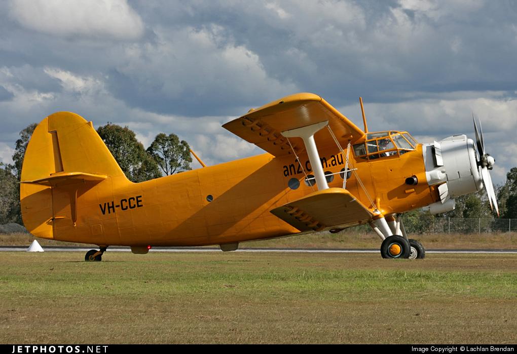 VH-CCE - PZL-Mielec An-2TP - Private