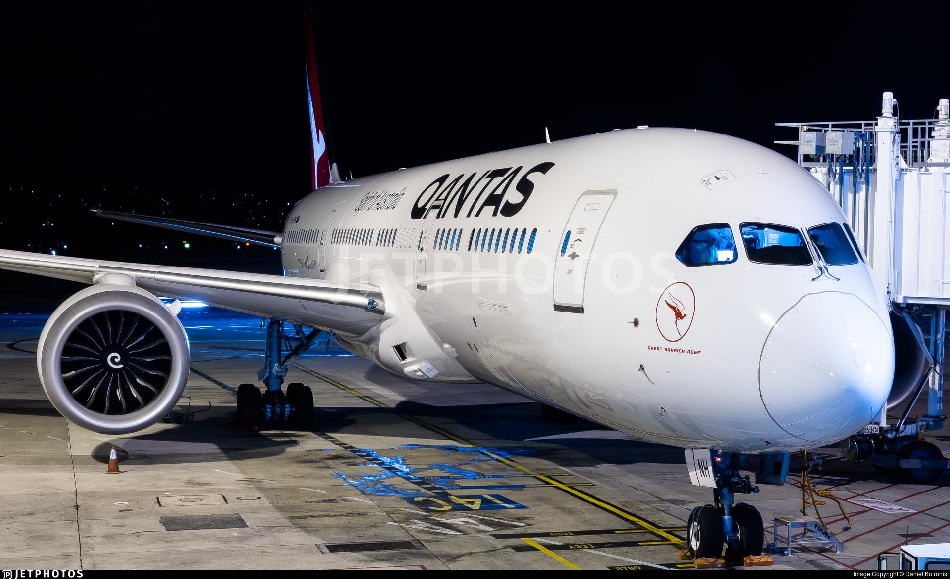 VH-ZNH - Boeing 787-9 Dreamliner - Qantas