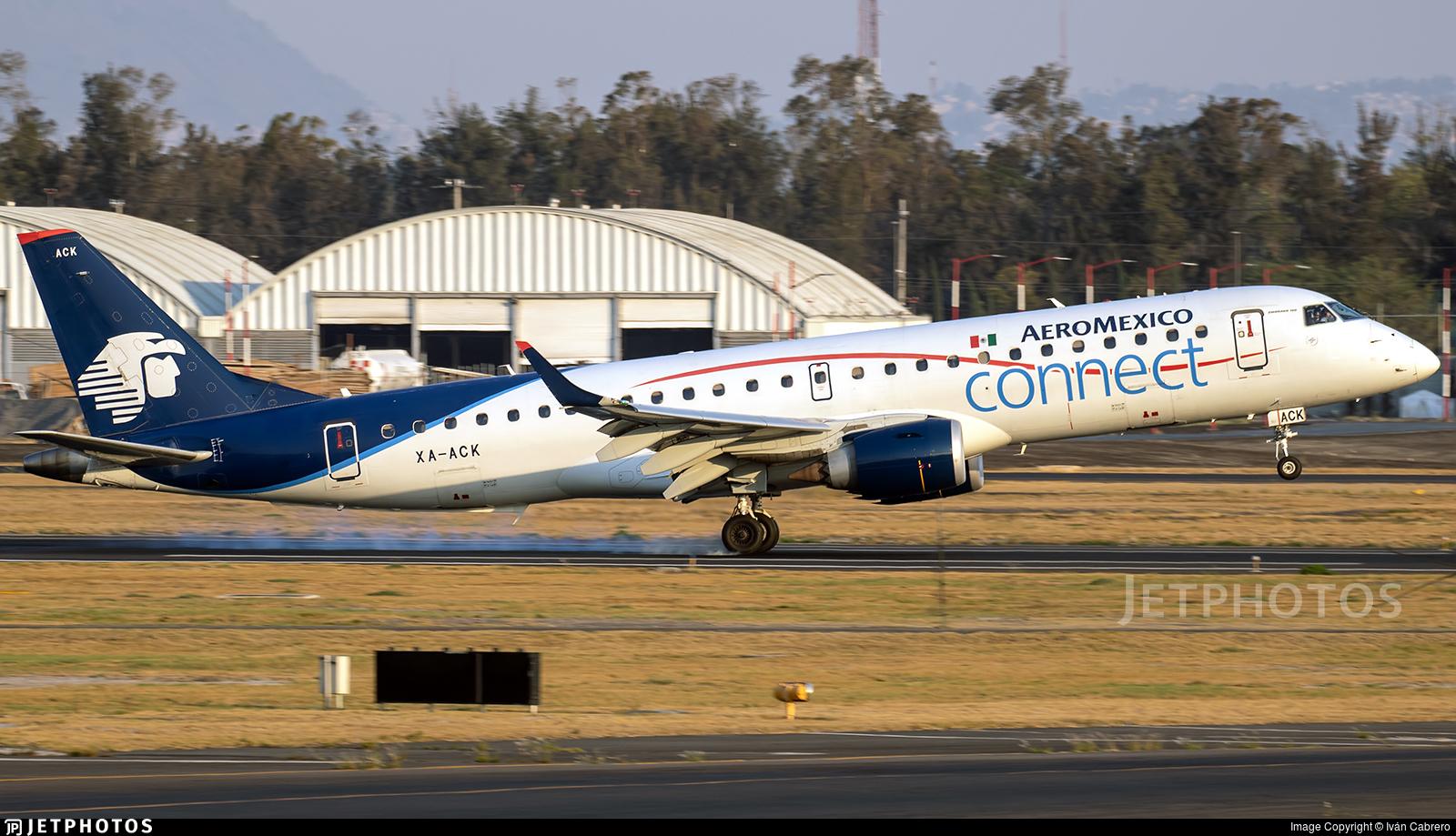 XA-ACK - Embraer 190-100LR - Aeroméxico Connect
