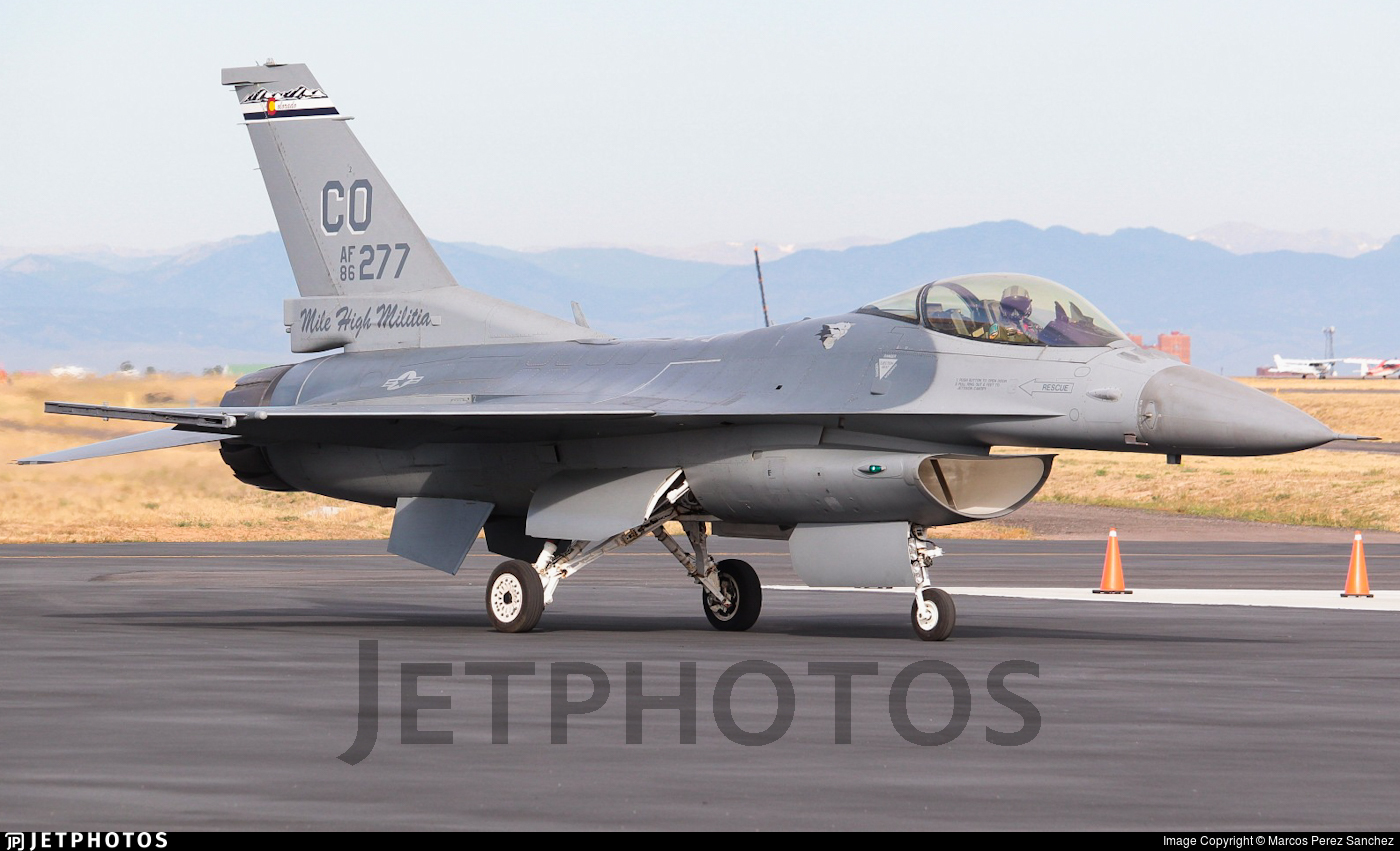 86-0277 - General Dynamics F-16C Fighting Falcon - United States - US Air Force (USAF)