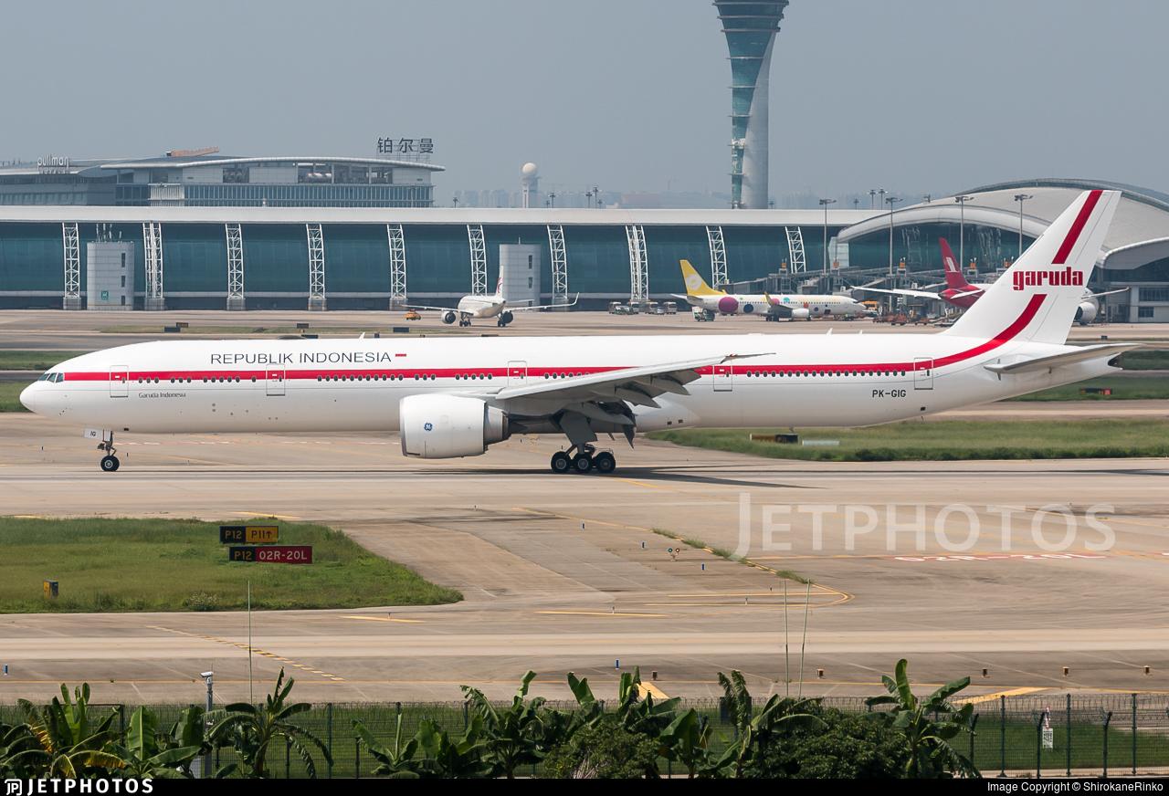 PK-GIG - Boeing 777-3U3ER - Indonesia - Government (Garuda Indonesia)