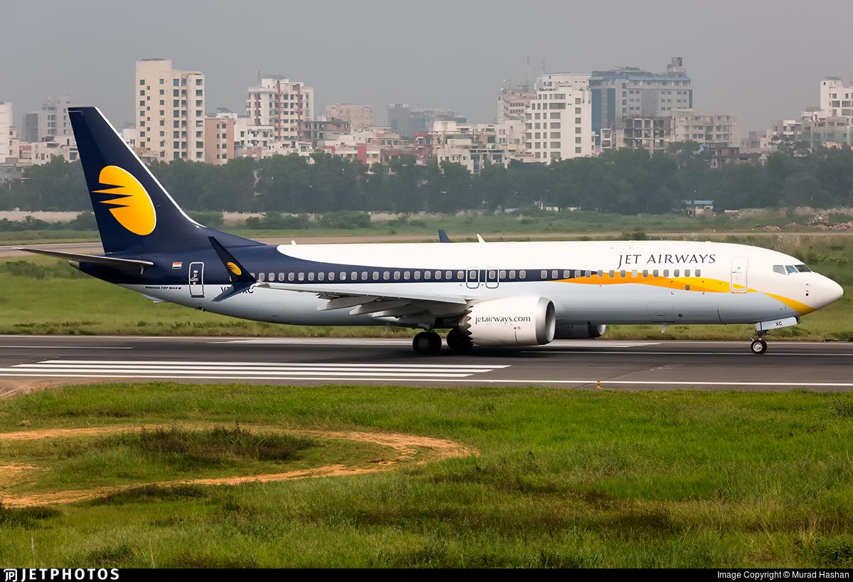 VT-JXC - Boeing 737-8 MAX - Jet Airways