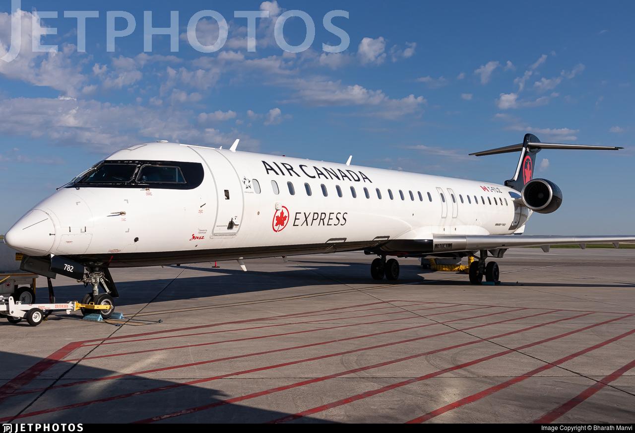 C-FOJZ - Bombardier CRJ-900LR - Air Canada Express (Jazz Aviation)