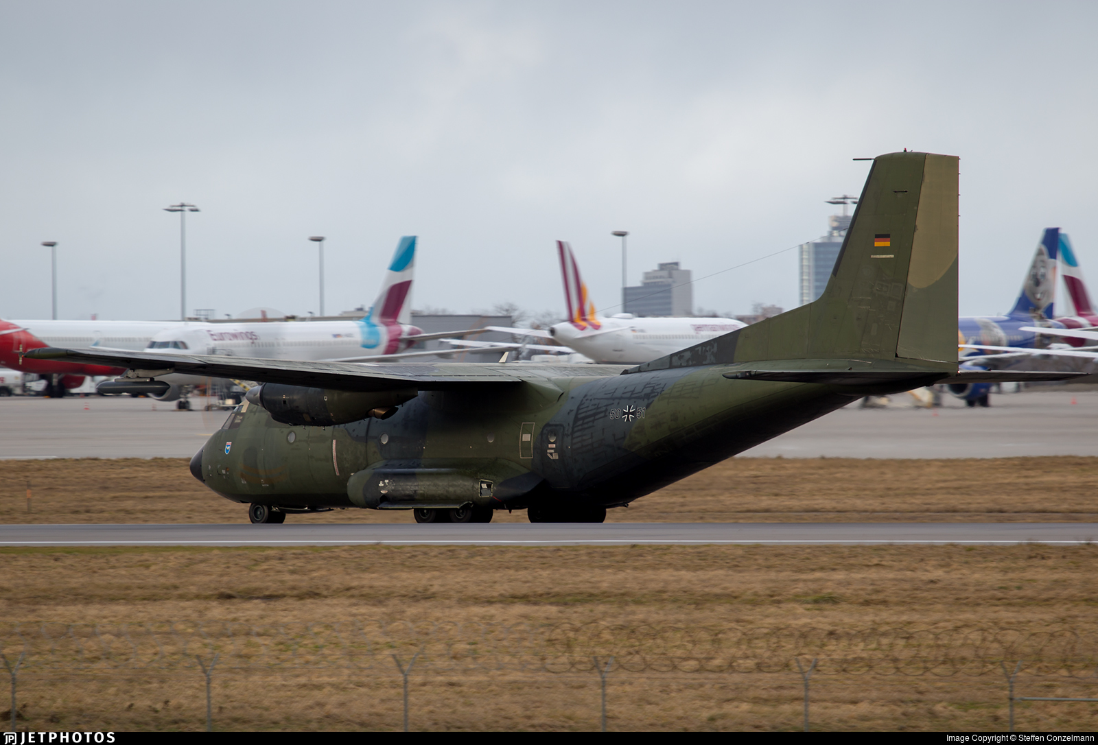50-51 - Transall C-160D - Germany - Air Force