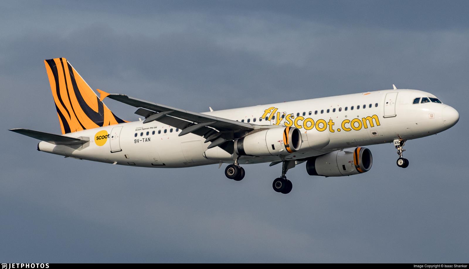 9V-TAN - Airbus A320-232 - Scoot