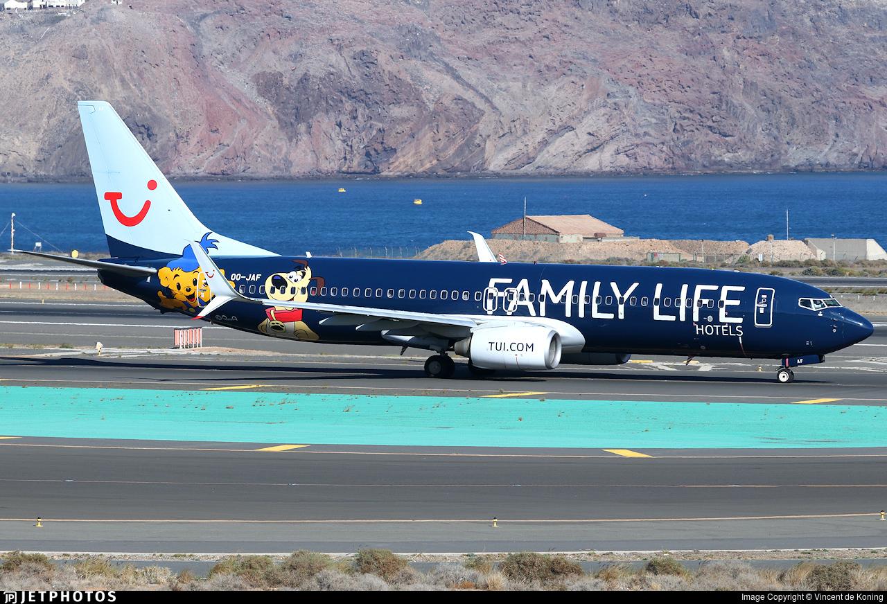 OO-JAF - Boeing 737-8K5 - TUI