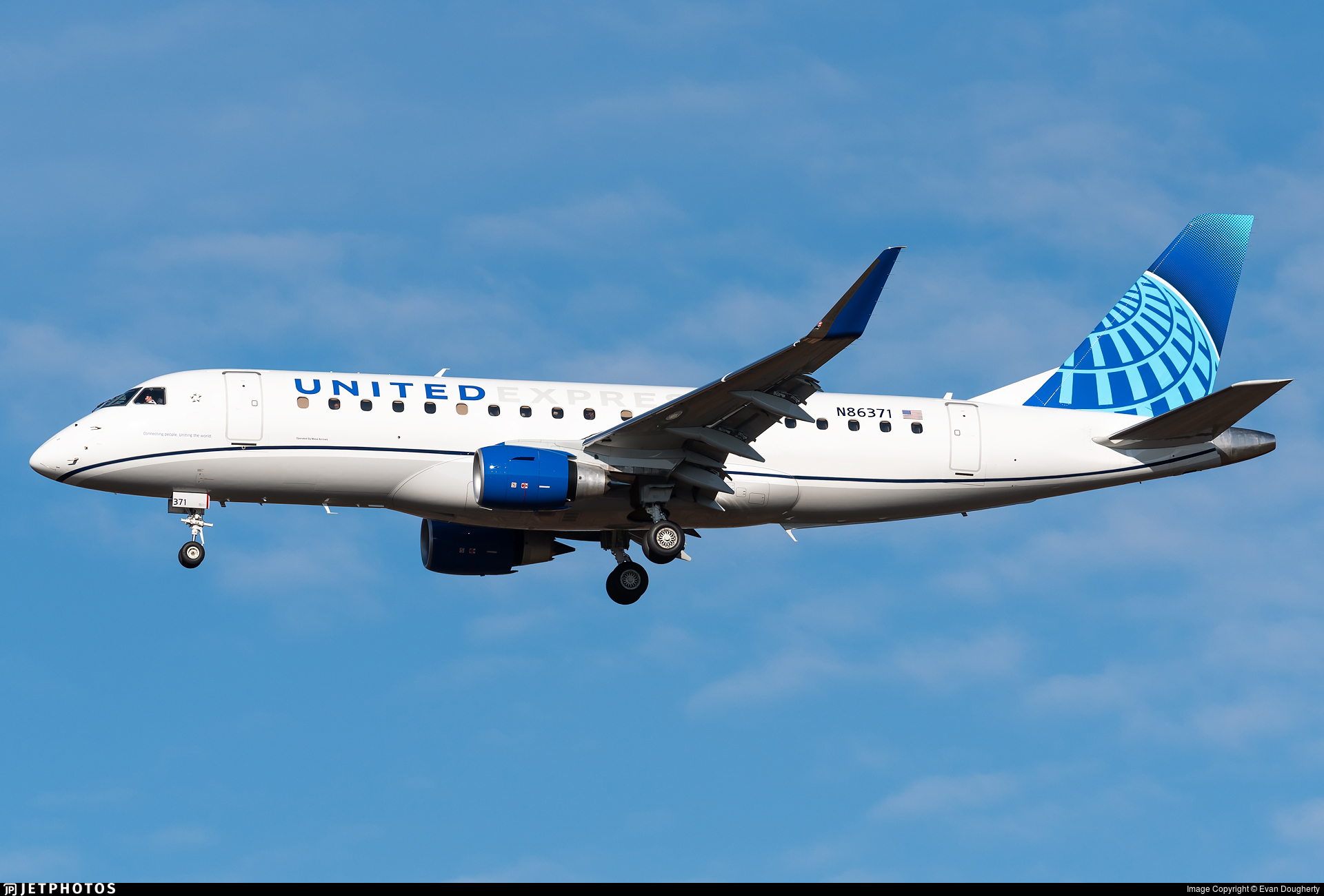 N86371  - Embraer 170-200LL - United Express (Mesa Airlines)