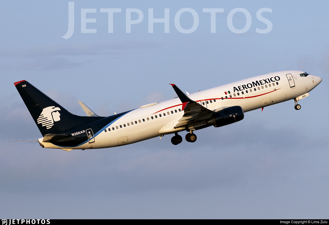 N368AR - Boeing 737-86J - Aeromexico