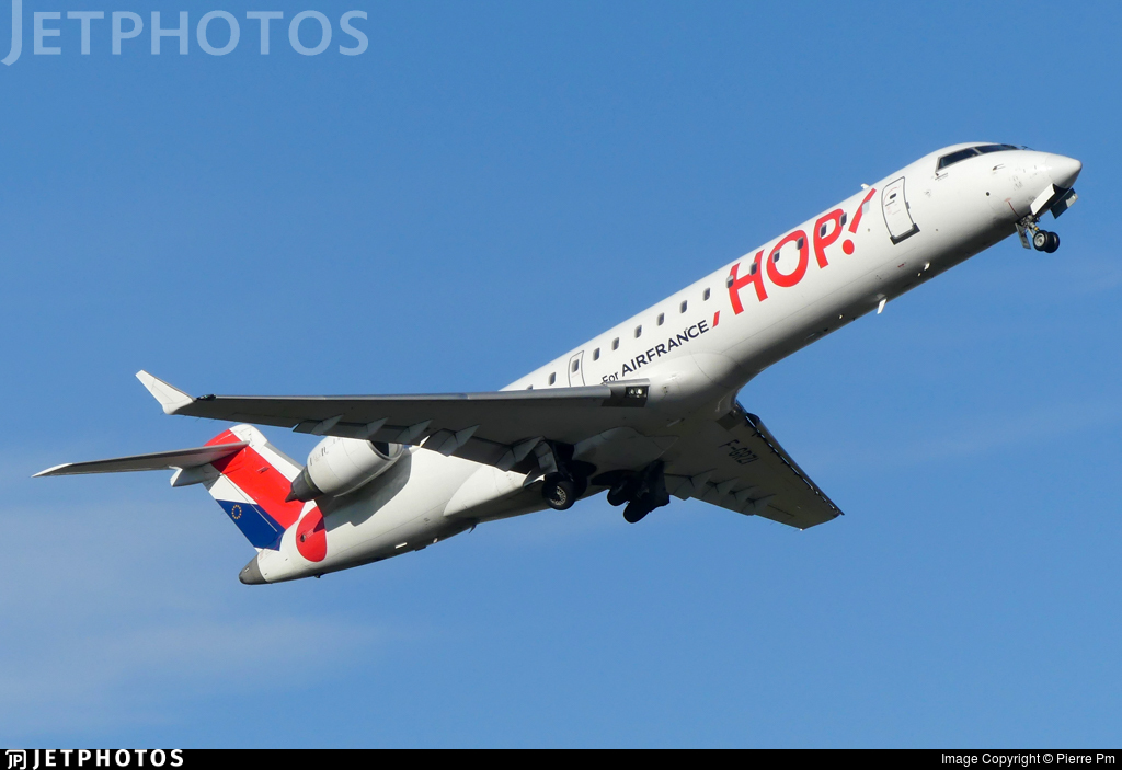 F-GRZI - Bombardier CRJ-701 - HOP! for Air France
