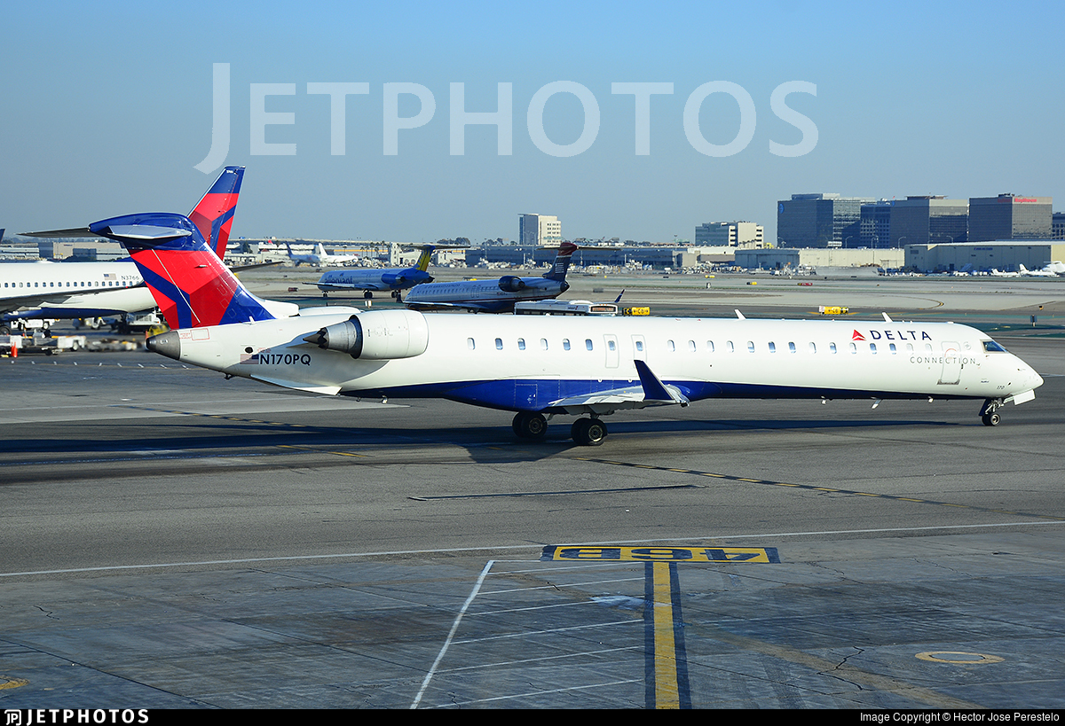 N170PQ - Bombardier CRJ-900LR - Delta Connection (Pinnacle Airlines)
