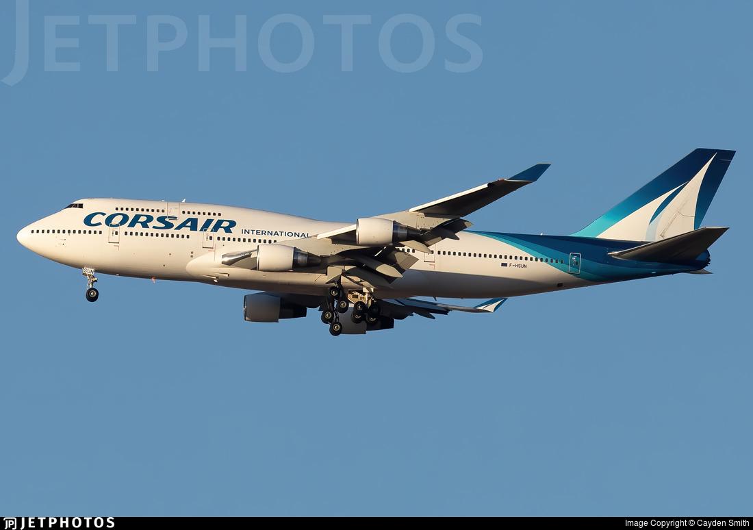 F-HSUN - Boeing 747-422 - Corsair International