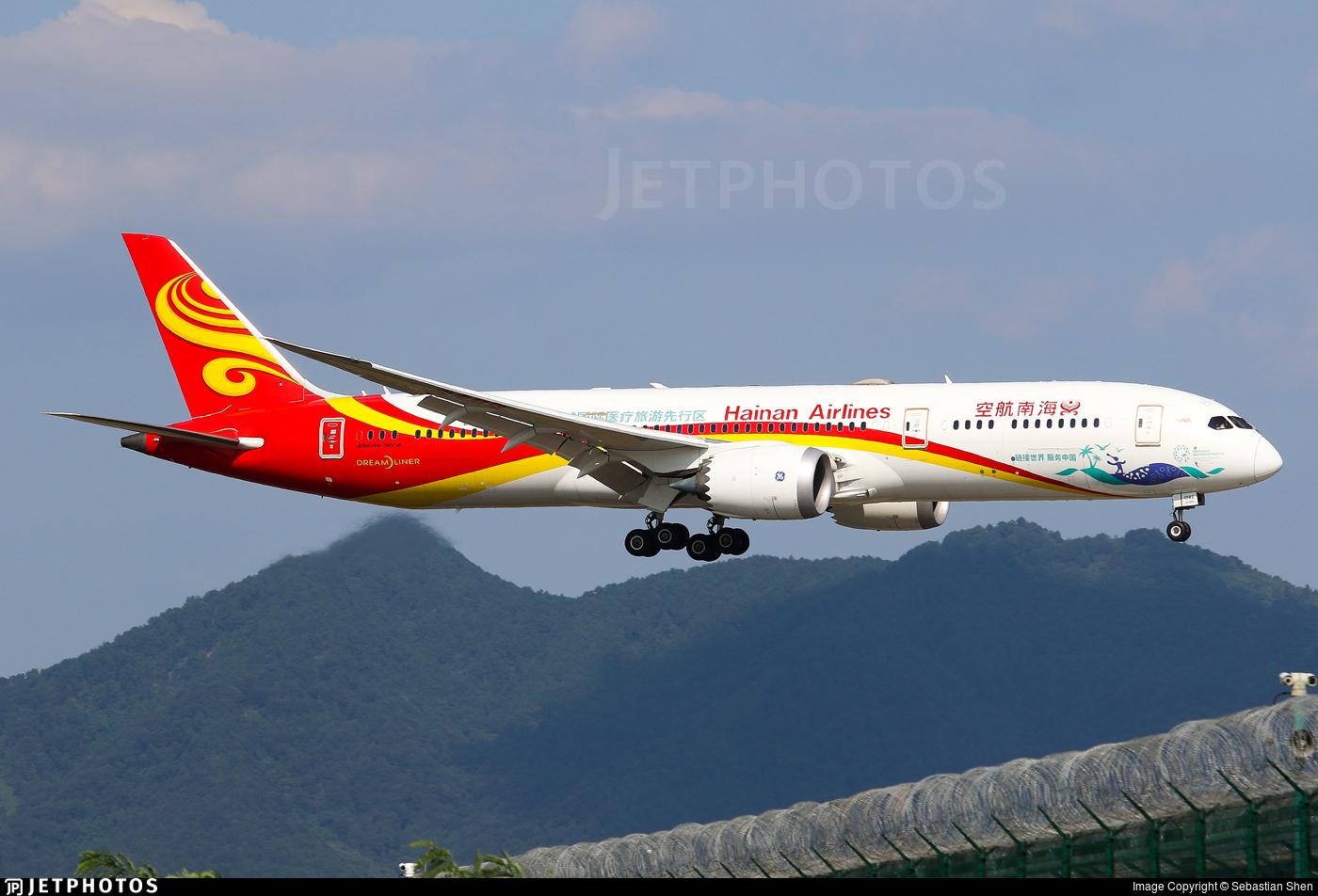 B-1342 - Boeing 787-9 Dreamliner - Hainan Airlines