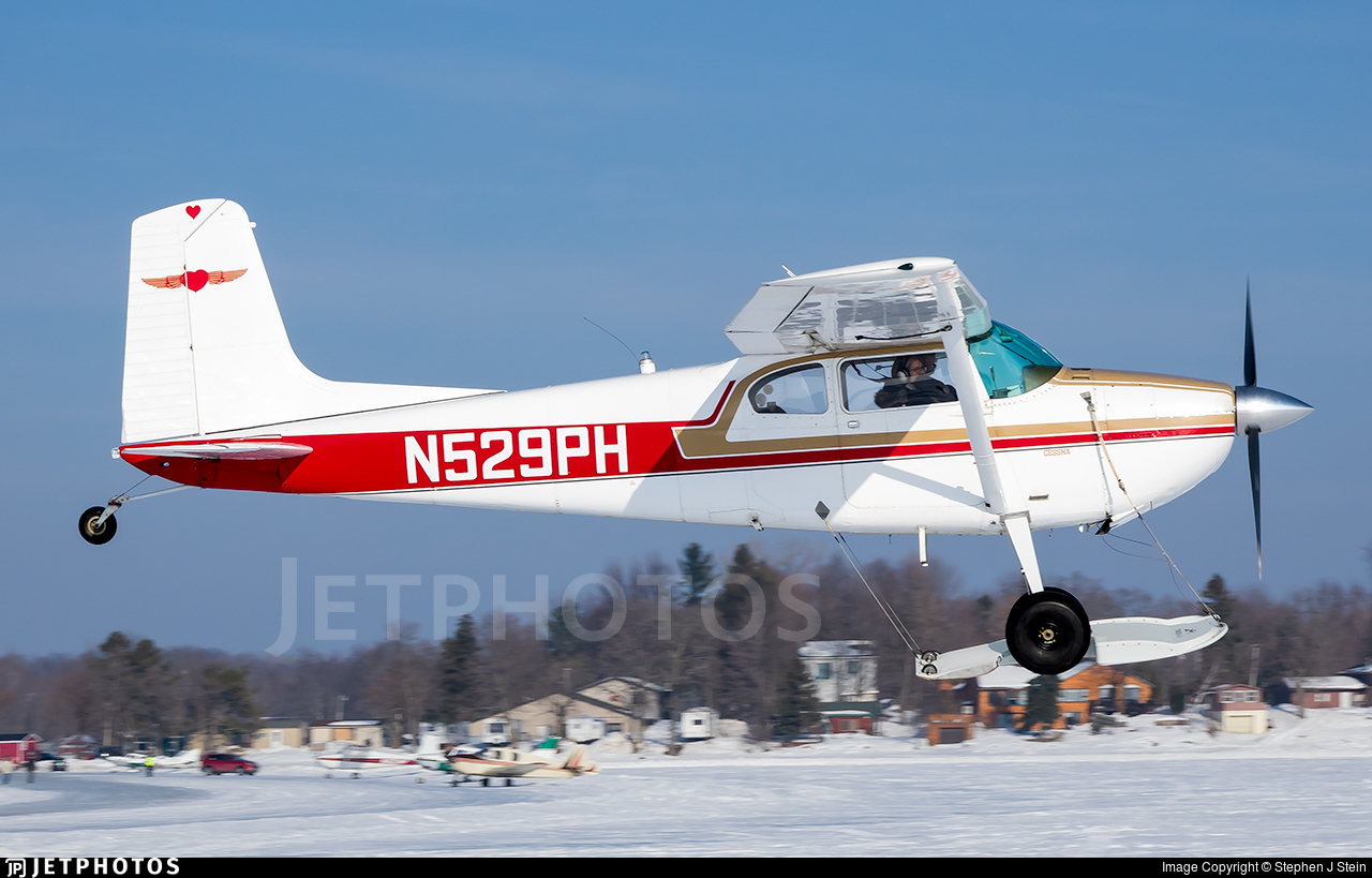 N529PH - Cessna 180 Skywagon - Private