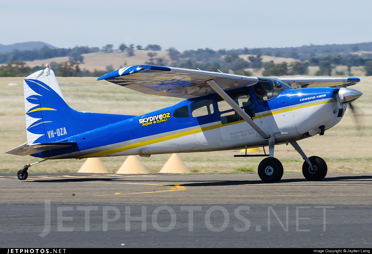 VH-OZA - Cessna A185F Skywagon - Skydive The Beach and Beyond Sydney