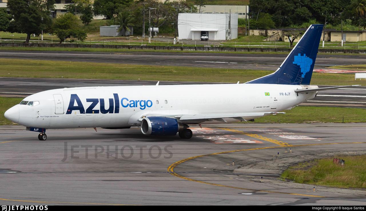 PR-AJY - Boeing 737-48E(SF) - Azul Cargo