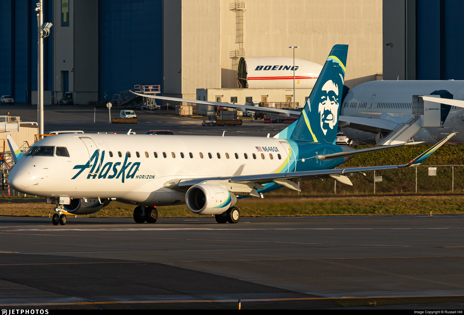 N646QX - Embraer 170-200LR - Alaska Airlines (Horizon Air)