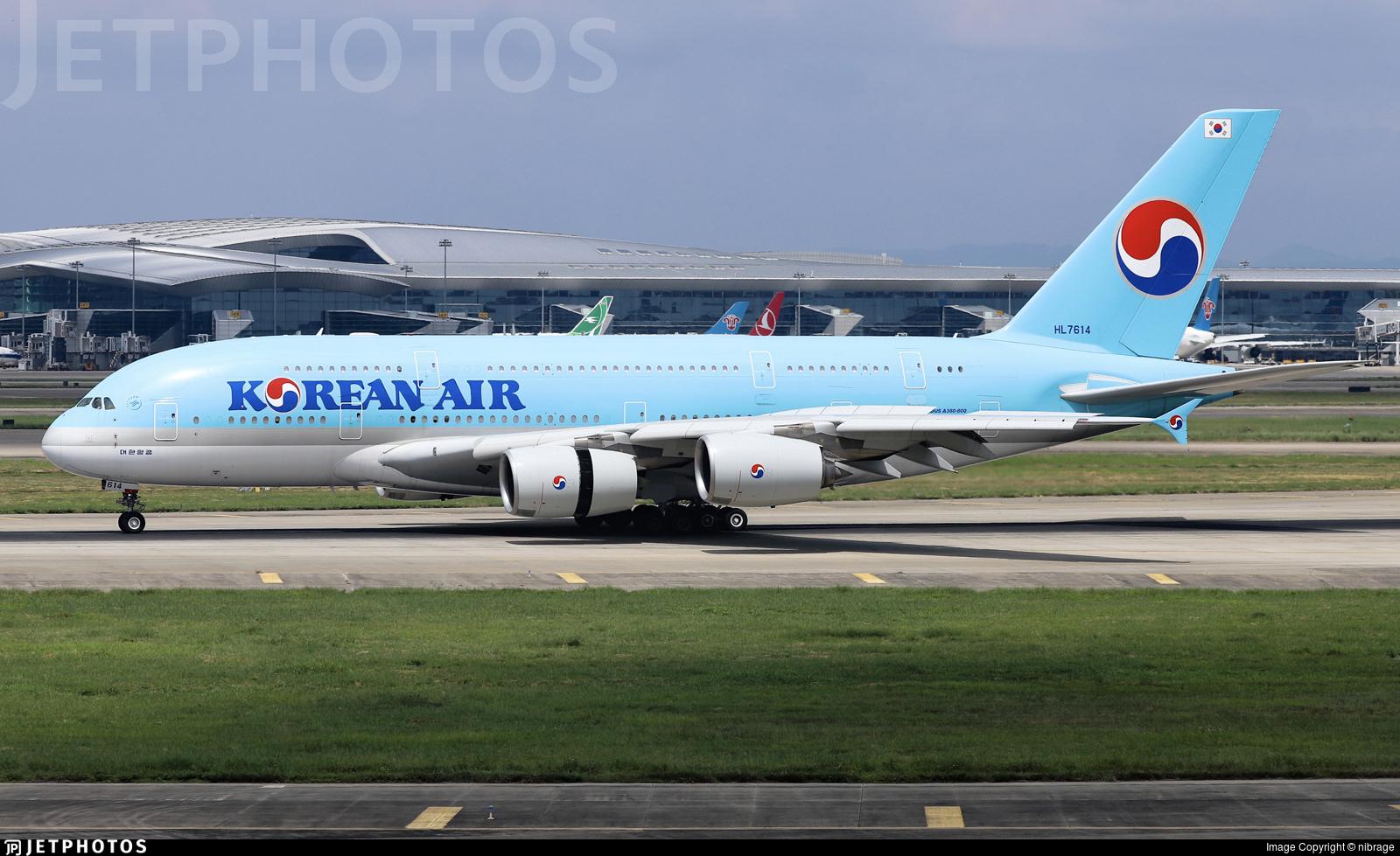 HL7614 - Airbus A380-861 - Korean Air