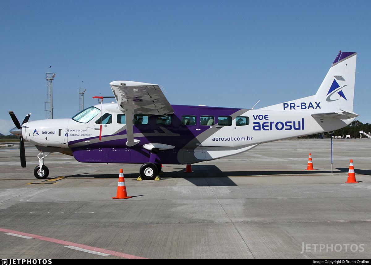 PR-BAX - Cessna 208B Grand Caravan - Aerosul Taxi Aereo LTDA