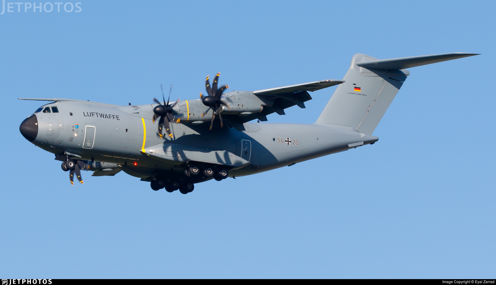 54-20 - Airbus A400M - Germany - Air Force