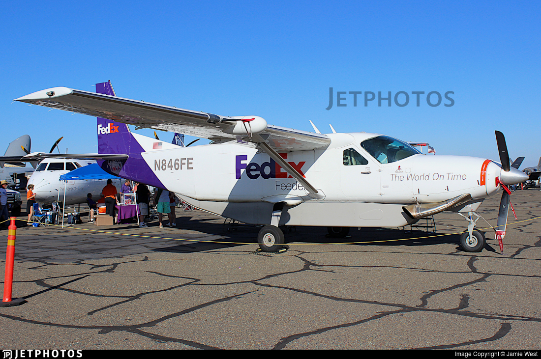 N846FE - Cessna 208B Super Cargomaster - FedEx Feeder (West Air)