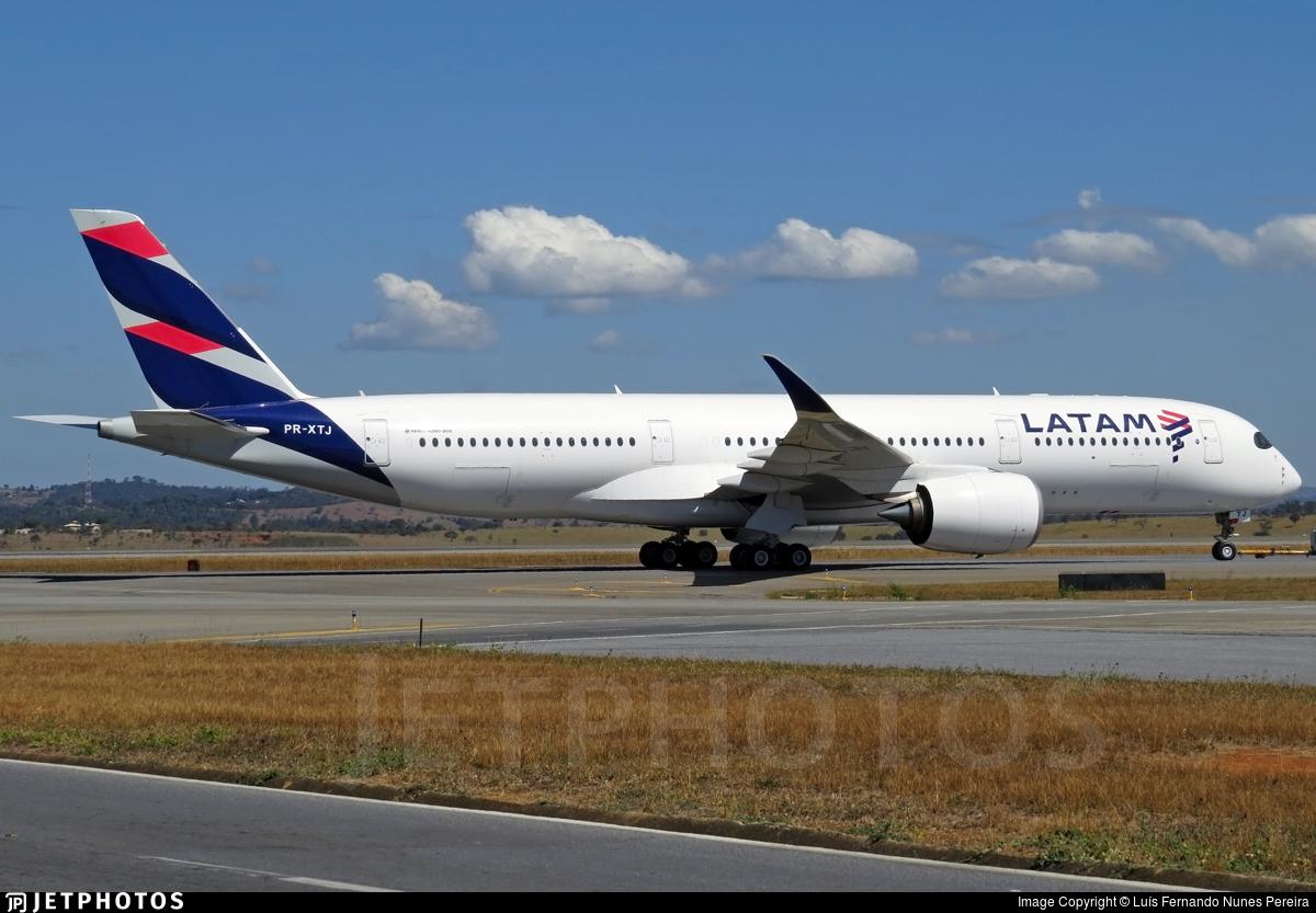 PR-XTJ - Airbus A350-941 - LATAM Airlines