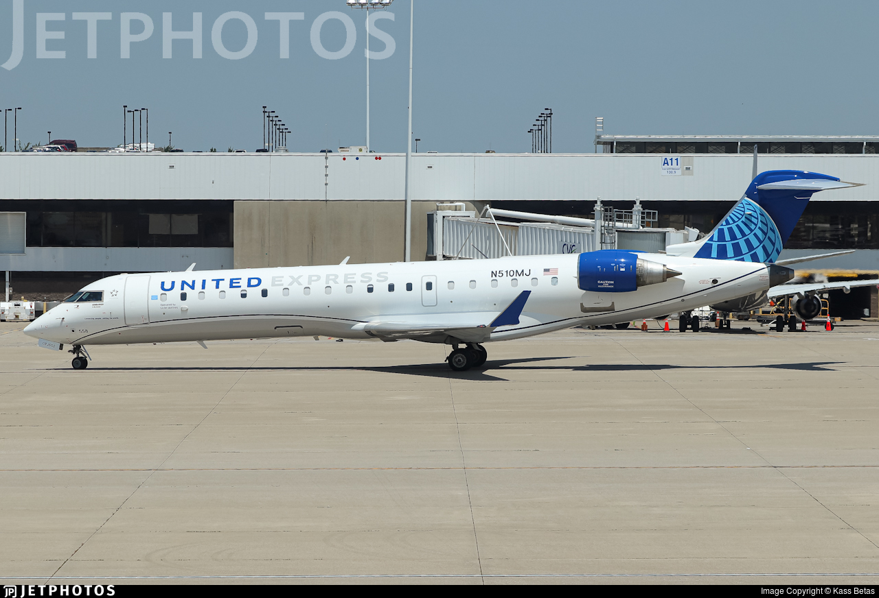 N510MJ - Bombardier CRJ-550 - United Express (GoJet Airlines)