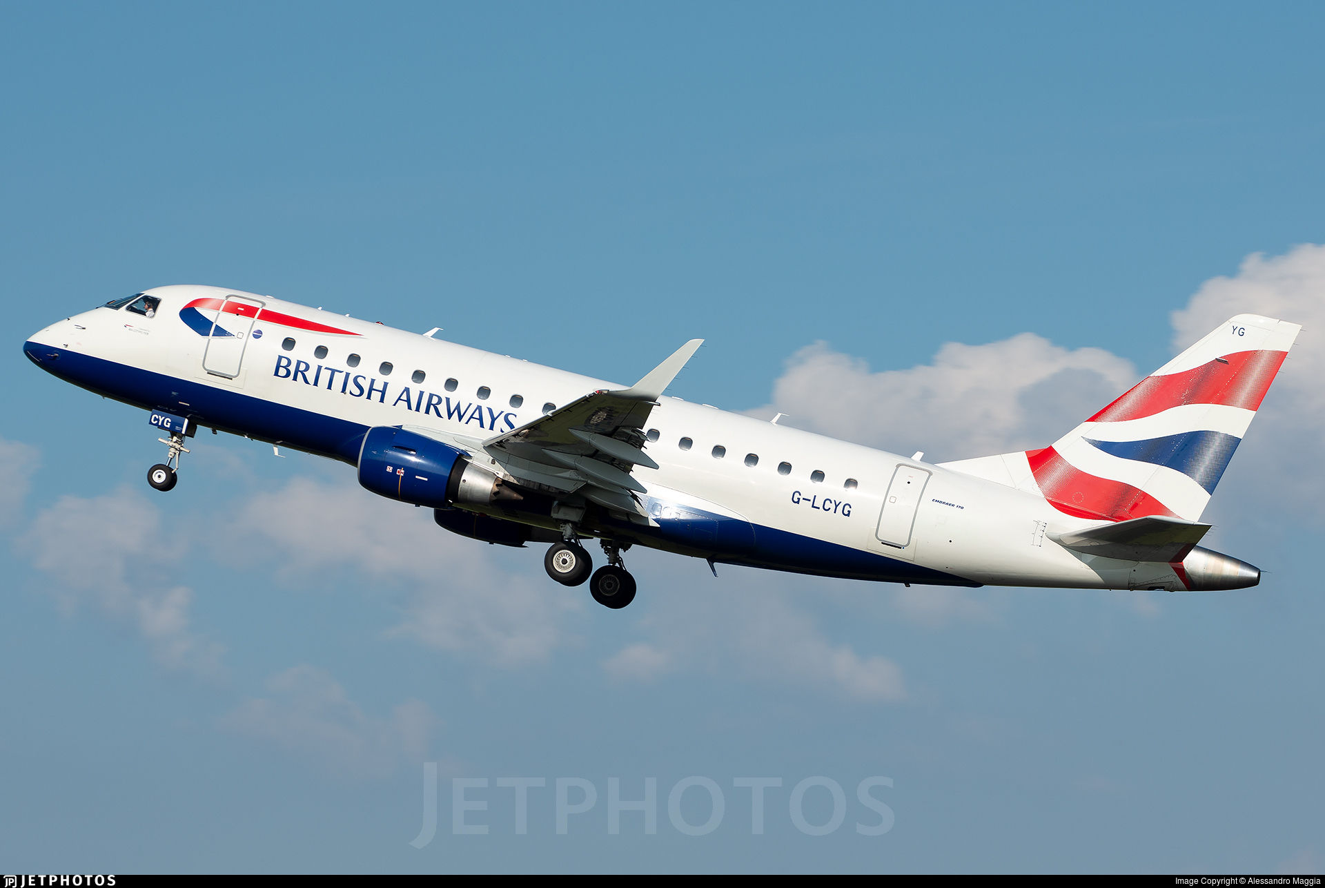 G-LCYG - Embraer 170-100STD - BA CityFlyer