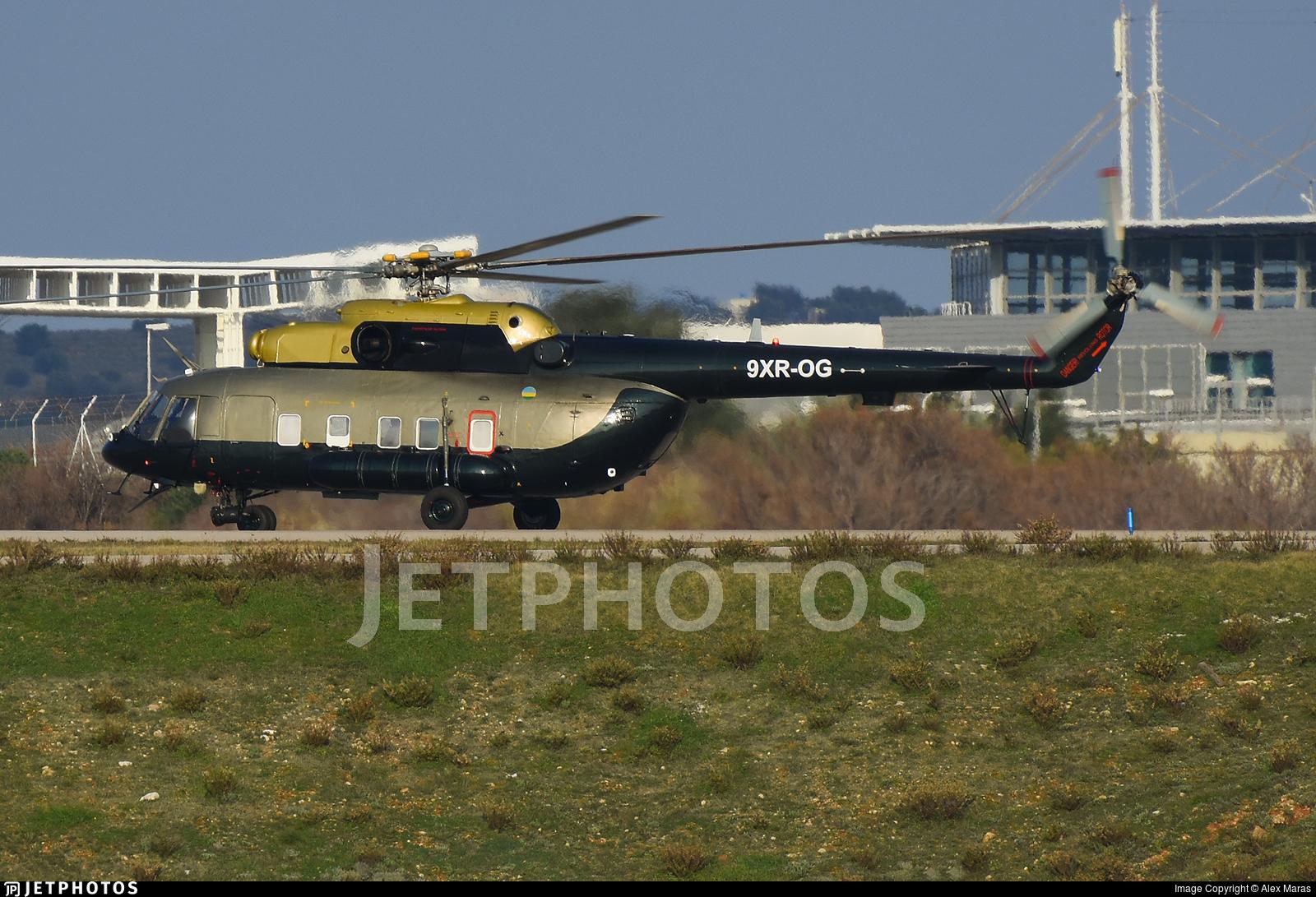 9XR-OG - Mil Mi-17-1V Hip - Rwanda - Government