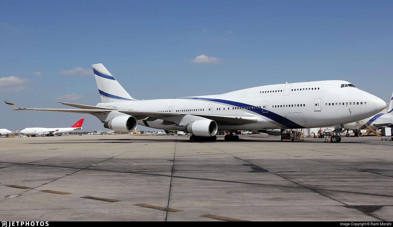 4X-ELD - Boeing 747-458 - Untitled