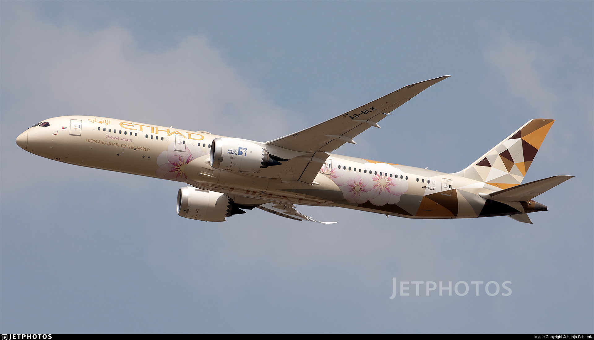 A6-BLK - Boeing 787-9 Dreamliner - Etihad Airways